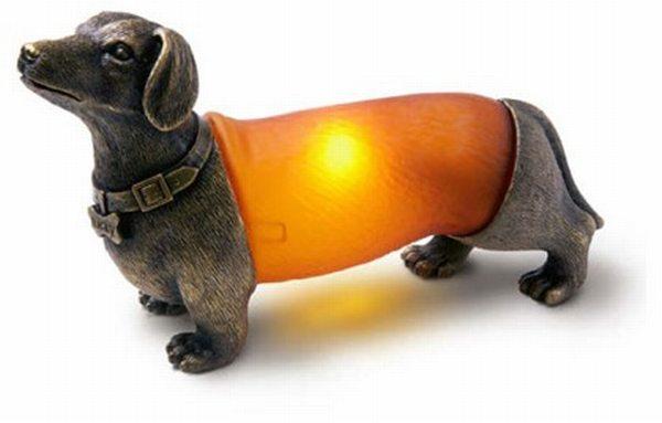 Wiener Dog Lamp