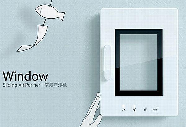 Window Sliding Air Purifier