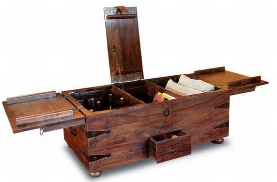 wine bar treasure trunk 4