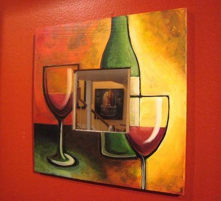 wine mirror