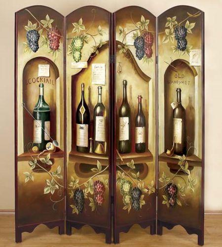 wine screen room divider