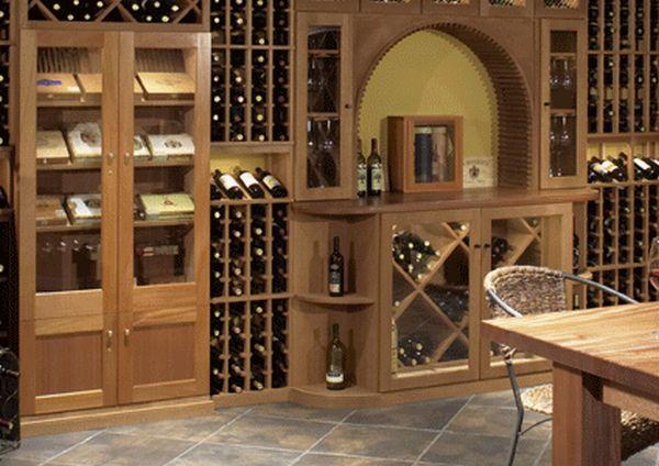 wine cellar decoration