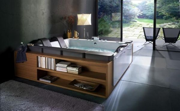 with storage stylish contemporary bathtubs