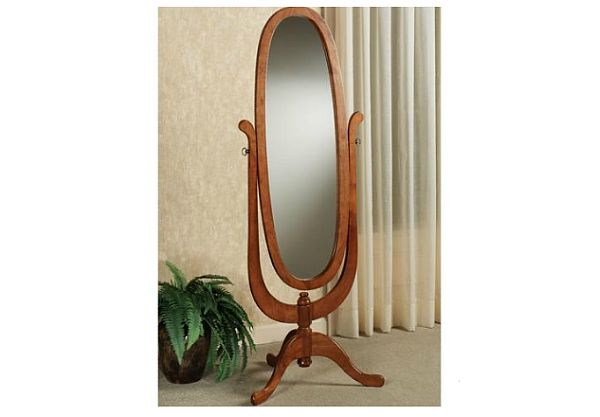 Wood Cheval Mirror