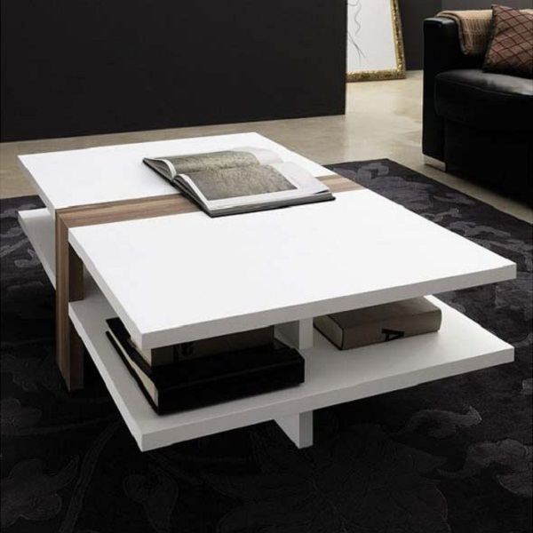 Elegant White Coffee Tables Hometone Home Automation And Smart Guide