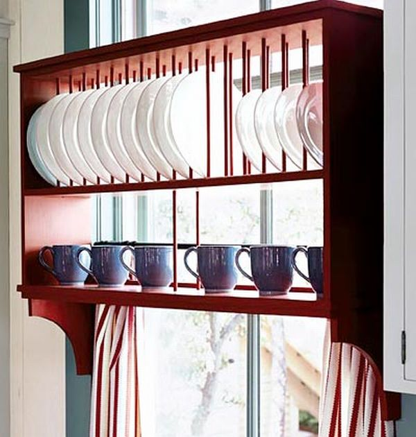... Eight Wooden Dish Racks For A Clic Kitchen Decor Hometone ...  sc 1 st  Kitchen Appliances Tips And Review & Wood Kitchen Plate Rack - Kitchen Appliances Tips And Review