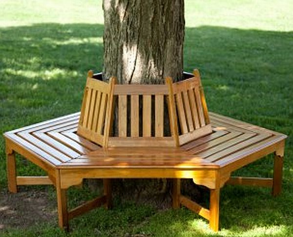 Durable wooden garden benches - Hometone - Home Automation and Smart Home Guide