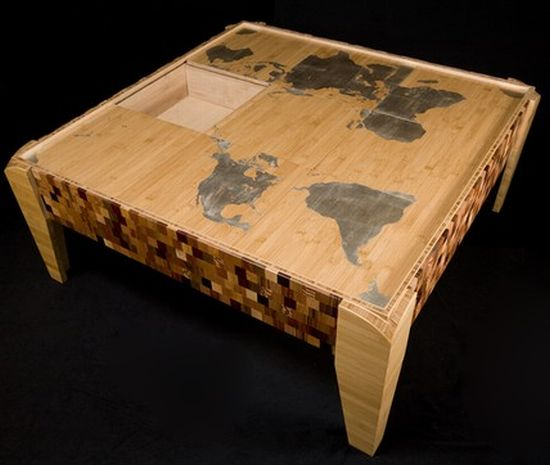 world map puzzle table1