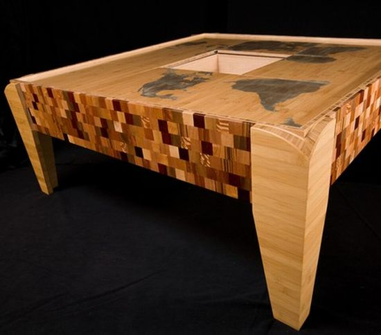 world map puzzle table2