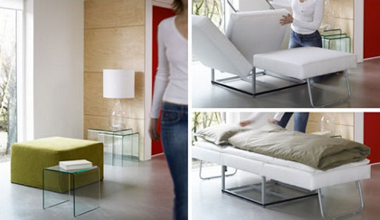 Xtra' — A beautiful pouffe-cum-bed by BoConcept | Hometone