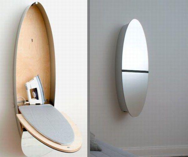 Wall Mounted Mirrors Ironing Closet
