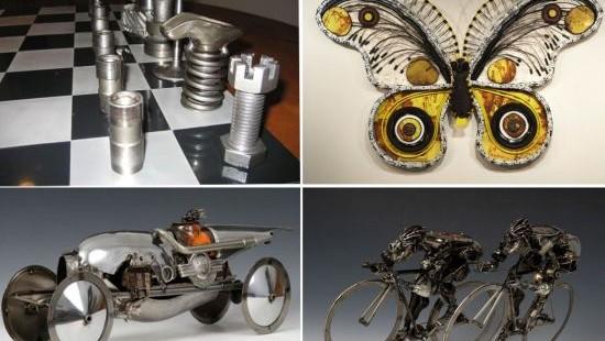 auto art sculpture
