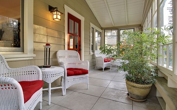 backyard porch