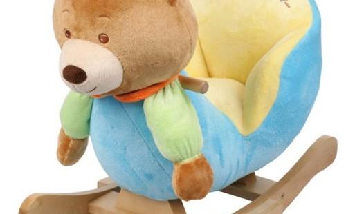 Ben Bear Baby Animal Lullabye Musical Rocking Chair Seat Toy