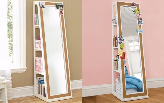 Smart Bookcase With Mirror
