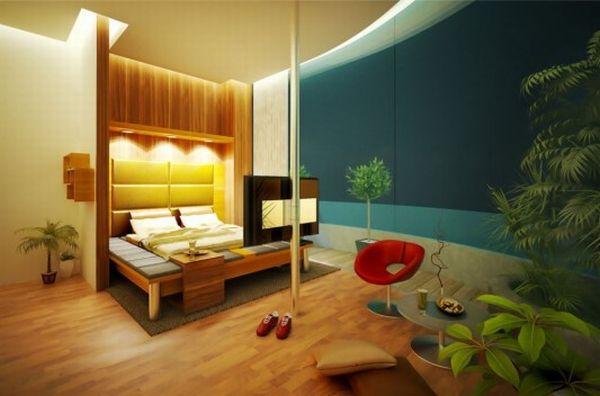 Ideas For Home Garden Bedroom: Refreshing Garden Bedroom Ideas