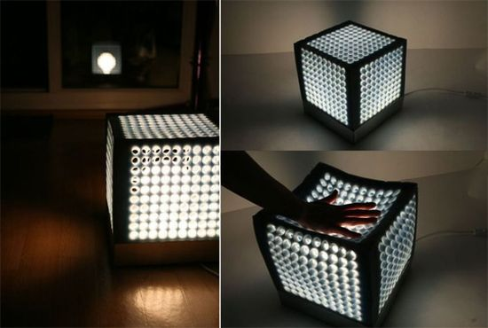 Cube lamp - A lamp you can sit on - Hometone