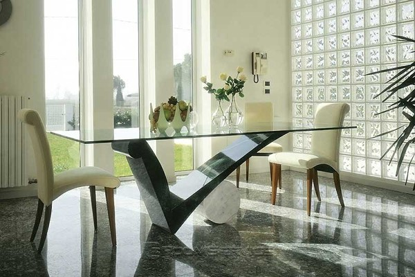 Contemporary dining tables to dine in style hometone home automation and smart home guide - Dining tables accessories ...
