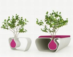 Flowerpot cum Table