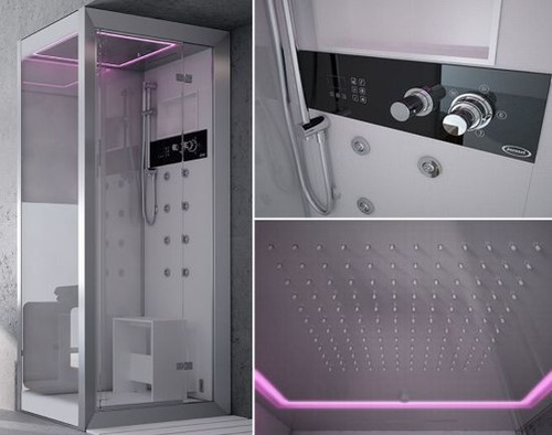 12 hi tech showers for your luxury home hometone home for Home automation shower