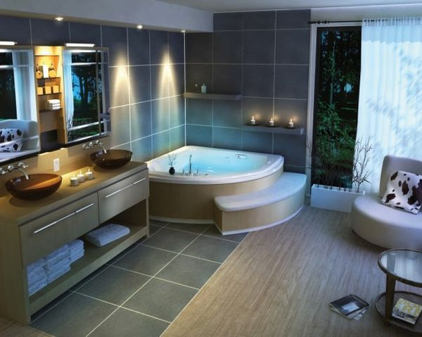 Contemporary Bathroom Designs Hometone Home Automation And