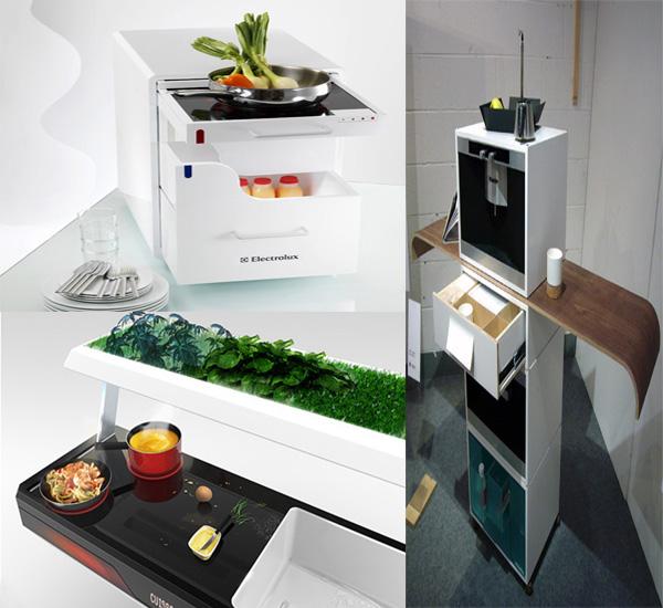 Five Futuristic Kitchen Designs