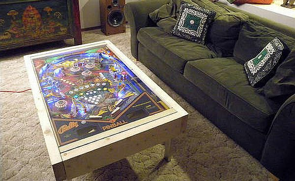 How To Create Your Own LED Pinball Coffee Table Hometone