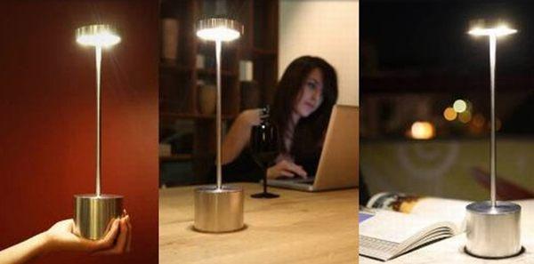 Luxciole cordless LED lamp enjoys minimalist yet striking design ...