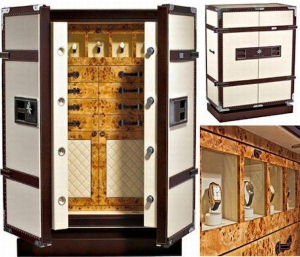 Luxury Safe That Mimics The Wardrobe Hometone