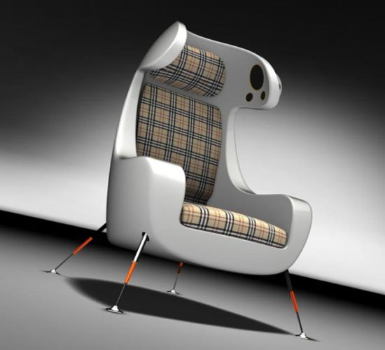 Techie Media Chair Deserves A Place In My Hi Tech Home   Hometone   Home  Automation And Smart Home Guide