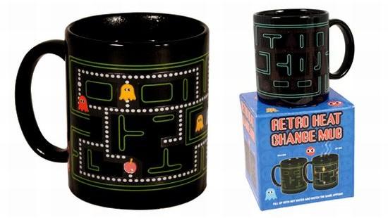 pac man coffee mug