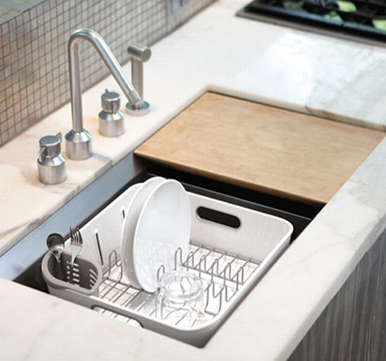 compact dish rack perfect for small dwellings   hometone