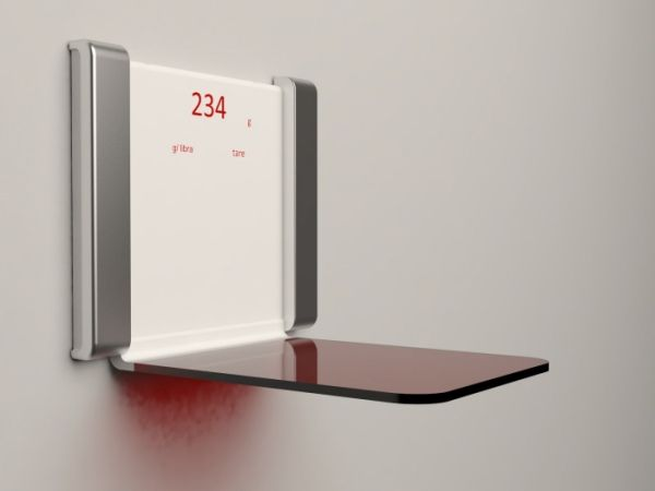 Scolo table scale is a time piece too hometone home for Are smart scales worth it
