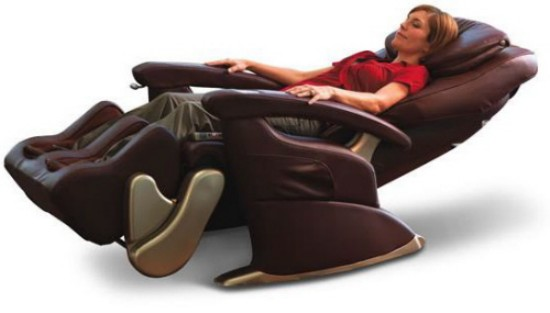 human touch robotic massage recliner chair 2112