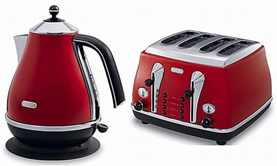 DeLonghi Retro Toaster And Kettle From John Lewis Hometone