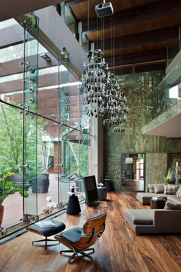 How to decorate rooms with high ceilings hometone home ambient lighting isnt the ideal solution for rooms with high ceilings as it leads to a loss of light and makes the space look bare installing pendant aloadofball Gallery