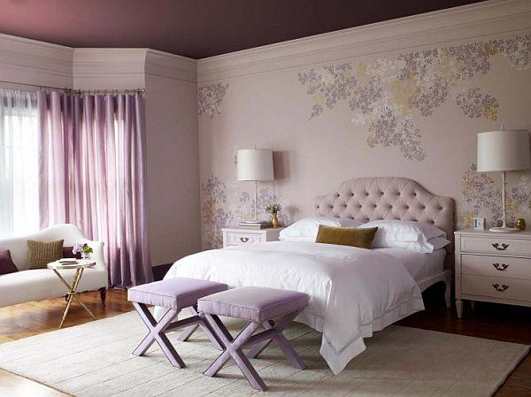 Bon Lavender Pink Bedroom