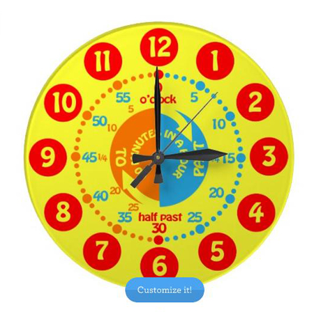 7 Cute wall clocks for kids rooms - Hometone