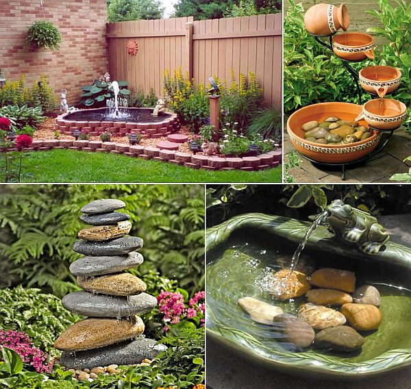 Spruce up your garden decor with these awesome accessories for Small garden decoration