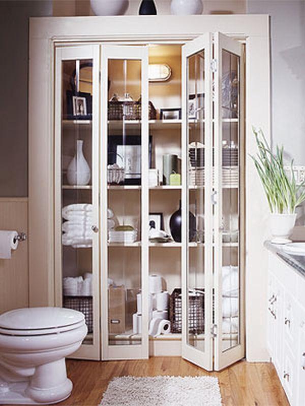 7 stylish bathroom storage options hometone home for Home automation shower