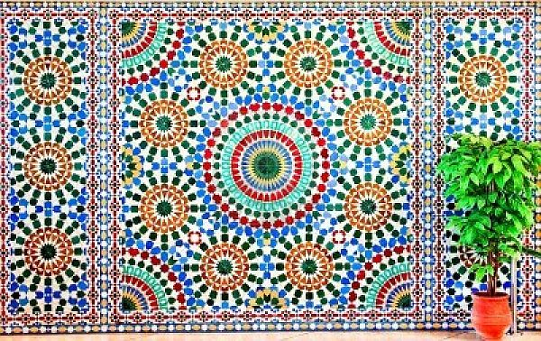 Mosaic Designs Patterns Mosaics Moroccan Design And