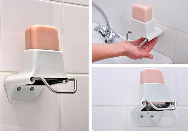 7 cool soap dispensers for your funky bathroom hometone - Soap flakes dispenser ...