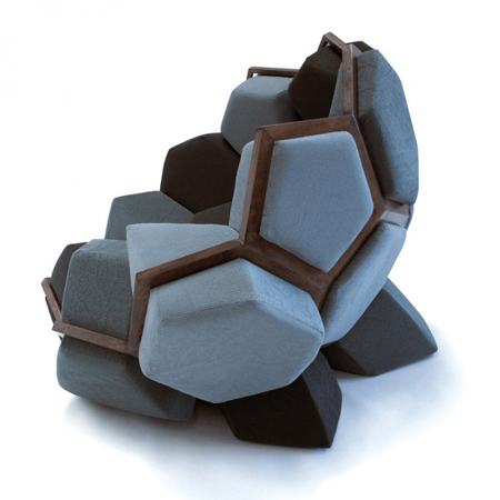 Nature Inspired Armchair By Davide Barzaghi Hometone