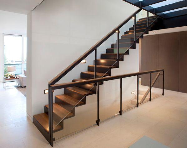 Modern beltéri lépcsők