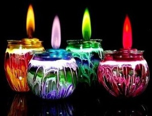 colorful-candles-for-new-year-home-decoration