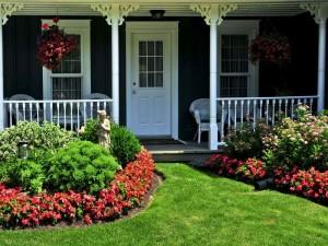 Beautiful-Flower-Front-Door-Entrances
