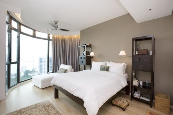 Soft-Brown-and-White-Apartment-Bedrooms