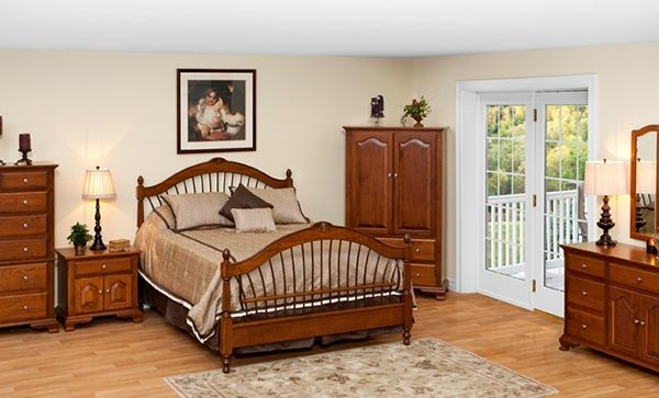 Dark-brown-oak-furniture-set