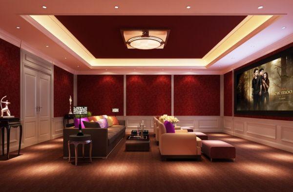 Lighting-design-for-home-theater