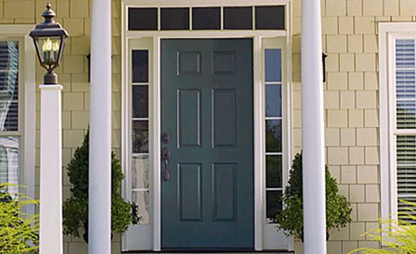 Tips to paint exterior steel doors home improvement guide by dr prem - Painting a steel exterior door model ...